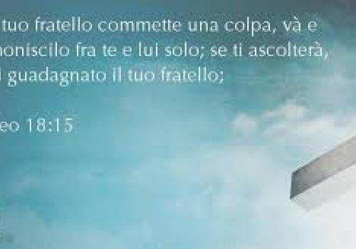 LA SINFONIA DELLA MISERICORDIA E DELLA FRATERNITA'-XXIII anno A